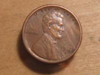 1916-S LINCOLN CENT, PENNY STREAKED PLANCHET AS MADE  EXTRA FINE  DETAILS, SKU11998