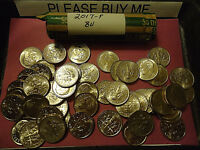 2017-P BU ROOSEVELT DIME ROLL    >>>COMBINED SHIPPING<<<