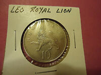 1976 U.K. NEW PENCE 10P COIN   LEO THE ROYAL LION    >>>COMBINED SHIPPING<<<