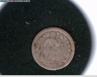 1853 SEATED LIBERTY DIME ARROWS    45-117
