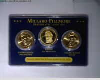 2010 P D S $1 PRESIDENTIAL DOLLARS FILMORE,PIERCE,BUCHANAN,LINCOLN  55-58-279