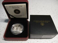 2011 CANADA $10 FINE SILVER PROOF COIN BOREAL FOREST. BOX CASE & COA. NO TAX