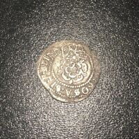 1619 1624 JAMES I SILVER 2 PENCE 1/2 GROAT GREAT BRITAIN THIRD COIN HIGH GRADE
