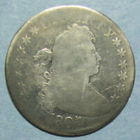 1807 DRAPED BUST QUARTER IN GOOD CONDITION