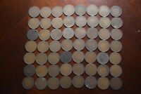 56 CANADA LARGE CENT COINS LOT  1880S   1920S MOSTLY 1910S T