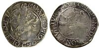 1633 NETHERLANDS SILVER LION DOLLAR VF CIRCULATED IN NEW YOR