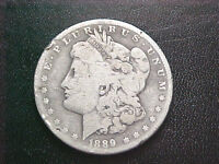 <>1889 CC MORGAN SILVER DOLLAR..SUPER KEY DATE..NO RESERVE A