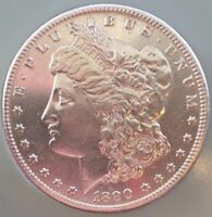 CARSON CITY   1890 CC MORGAN SILVER DOLLAR   ESTATE   $1