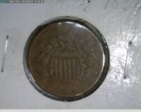 1864 2C TWO CENT CIVIL WAR COIN  17-182