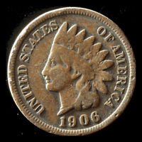 1906-P INDIAN CENT SHIPS FREE. BUY 5 FOR $2 OFF