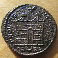 CONSTANTIUS II CAMP GATE AE 3 FROM ARLES