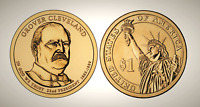 2012 D GROVER CLEVELAND 1ST TERM PRESIDENTIAL SERIES DOLLAR UNC MS UNCIRCULATED