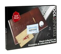 2012 CANADA TITANIC DELUXE COLLECTOR .999 SILVER COIN AND STAMP SET. LOW MINTAGE
