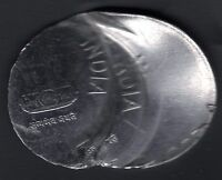 INDIA RS.2/  COIN  OFF CENTRE BROAD FLAN  & MULTIPLE STRIKE