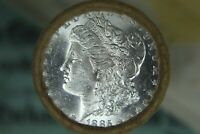 $20 BU ROLL MORGAN UNC SILVER DOLLAR 1885 & CC MORGAN DOLLAR