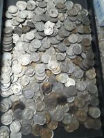 LOT OF 466 US FULL PARTIAL AND NO DATE BUFFALO NICKELS. CIRC