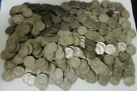 LOT OF 500 INDIAN HEAD BUFFALO NICKELS  ALL READABLE DATES
