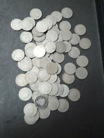 FULL DATE LIBERTY V NICKEL 2 ROLL   78 MIXED ALL DATED  COIN