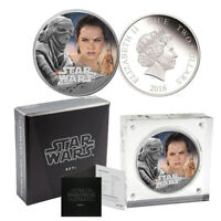 2016 STAR WARS REY SILVER PROOF $2 COIN   THE FORCE AWAKENS