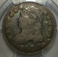 1820 SMALL O  CAPPED BUST DIME JR-10 PCGS VG 8  CUD REVERSE