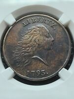 1793 CHAIN LARGE CENT NGC XF DETAILS S 4  R 3 NICE CHAIN CENT