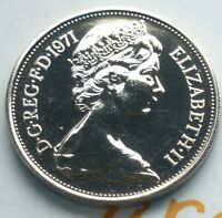 1971 10P TEN PENCE COIN IN PROOF CONDITION COIN HUNT @