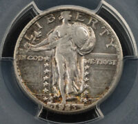 1923 S-MINT STANDING LIBERTY .25 SILVER QUARTER  KEY DATE PCGS EXTRA FINE 40 2202
