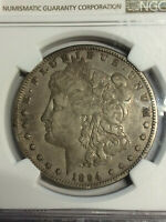 1894-P MORGAN NGC VAM 3 DOUBLED REVERSE R5  KEY DATE VF DETAILS   COIN