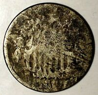 1869-P 5C SHIELD NICKEL, 18OTU0602 ONLY 50 CENTS FOR SHIPPING