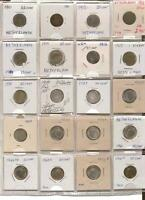 ESTATE NETHERLANDS COIN LOT | PAGE OF COINS | SILVER WORLD C