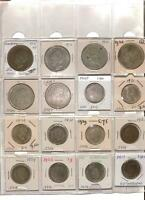 ESTATE NETHERLANDS COIN LOT | PAGE OF COINS | 5.7 OZ SILVER