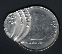 INDIA 2 RS. COIN MULTIPLE STRIKE IN BOTH SIDE ERROR