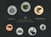 CANADA SPECIMEN SET 2011 COINAGE WITH $1 GREAT GRAY OWL SPECIAL EDITION