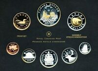 CANADA SILVER PROOF SET 2011 100TH ANNIVERSARY CANADA PARKS