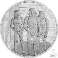 STAR WARS CLASSIC: STORMTROOPER 2019 NIUE 1OZ PROOF SILVER C