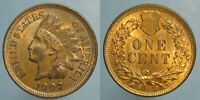 1907 INDIAN HEAD CENT   BROWN OBVERSE & MOSTLY RED REVERSE