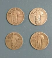 STANDING LIBERTY QUARTER LOT - 1925, 1926, 1927 AND 1929 D