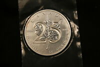 2013 CANADA 25TH ANNIVERSARY 1 OZ SILVER MAPLE LEAF SPECIAL ISSUE. MINT SEALED.