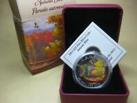 2013 $20 FINE SILVER COIN   AUTUMN BLISS