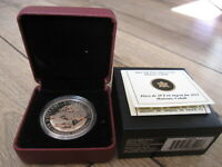 2012 FRANKLIN CARMICHAEL   GROUP OF 7 PROOF $20 SILVER COIN 1 OZ 999 FINE NO TAX
