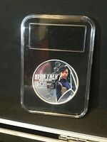 2018 SILVER 2 COIN STAR TREK U.S.S. DISCOVERY NCC 1301 SET