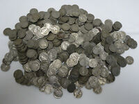 LOT OF 500 - NO DATE / WITHOUT DATE BUFFALO NICKELS TZ4D