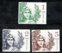 5295 5296 5297 STATUE OF FREEDOM COMPLETE SET MINT/NH