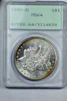1902-0 $1 MORGAN DOLLARPCGS MINT STATE 64