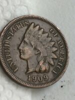 1909S INDIAN HEAD PENNY CLEAR LIBERTY NECKLACE AND DIAMONDS