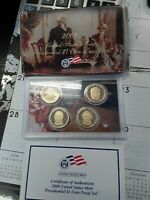 2009-S UNITED STATES PRESIDENTIAL PROOF SET NO RESERVE