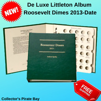 LITTLETON ALBUM ROOSEVELT DIMES 2013-DATE LCA77 US MINT CERTIFIED COINS PCGS NGC