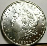1897 S MORGAN SILVER DOLLAR CHOICE UNCIRCULATED