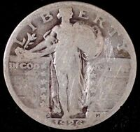 1926-S 25C STANDING LIBERTY QUARTER, SUU 90 SILVER  50 CENTS FOR SHIPPING