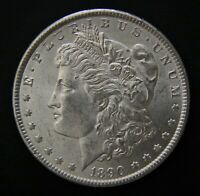 1890  MORGAN DOLLAR  LIGHTLY CIRCULATED  PHILADELPHIA MINT